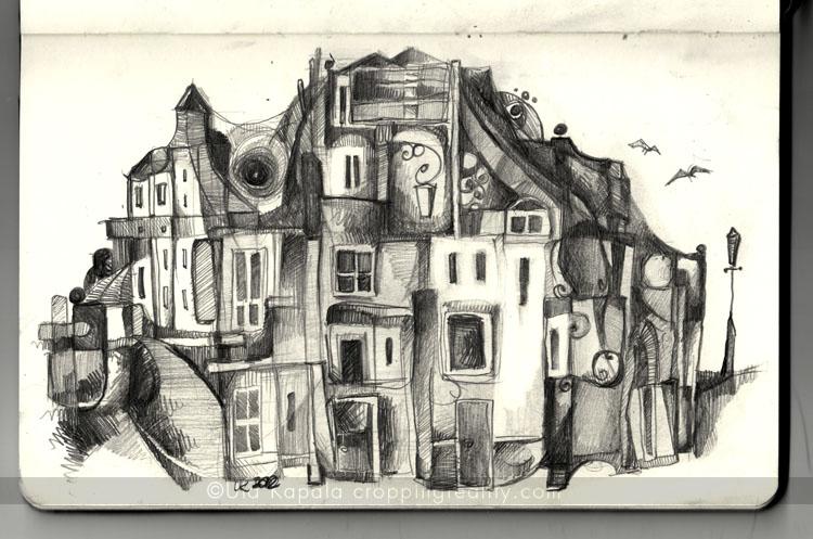Dream Town Sketch