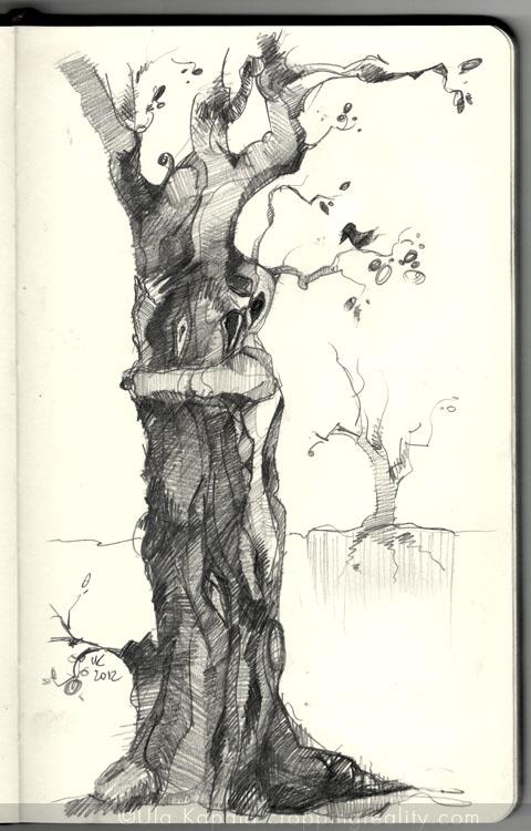 Man who became a tree