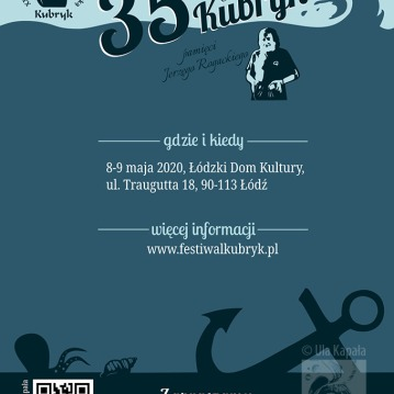 Kubryk Festival leaflet design
