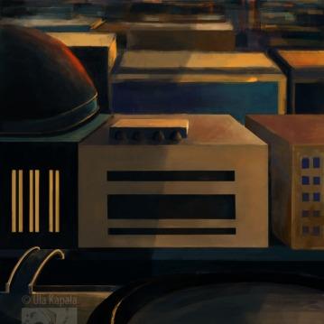 """Alien City"" digital concept art"